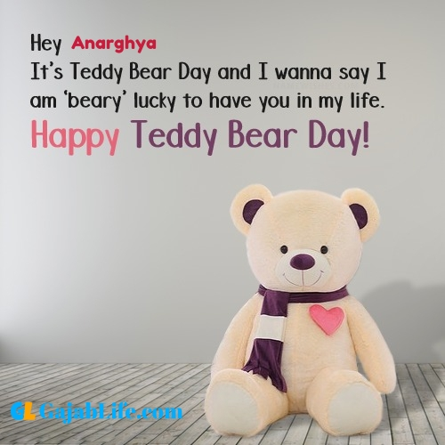 Anarghya happy teddy day wishes, messages, quotes, images, facebook & whatsapp status