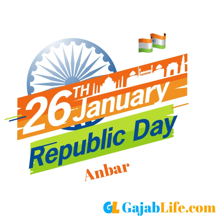 Anbar happy republic day wishe images photos pics