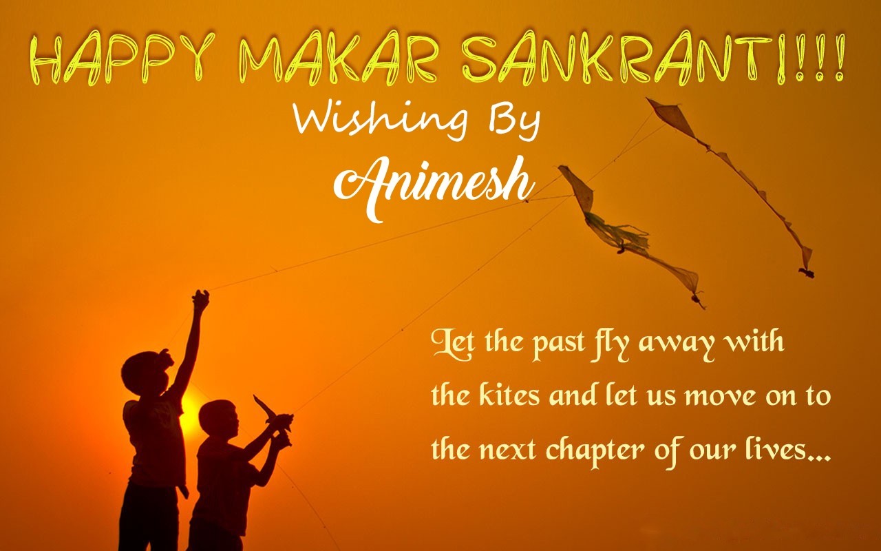 Animesh makar sankranti images, greetings and pictures for whatsapp
