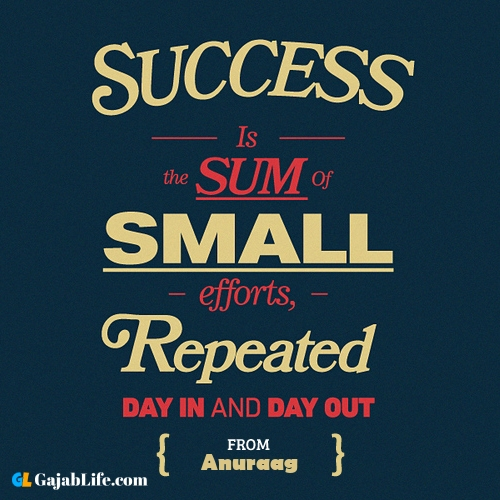 Best inspirational quotes anuraag