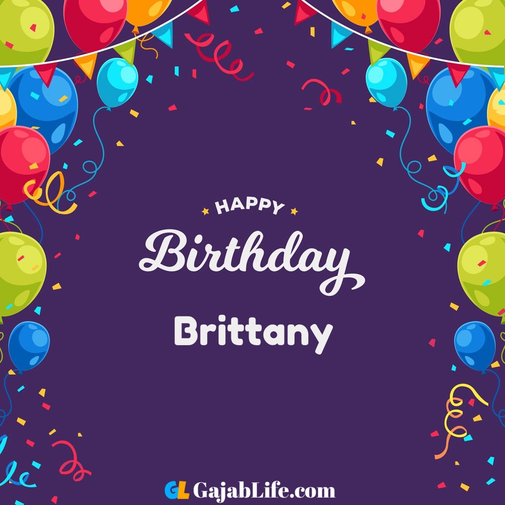 Brittany Happy Birthday Wishes Images With Name September 2020