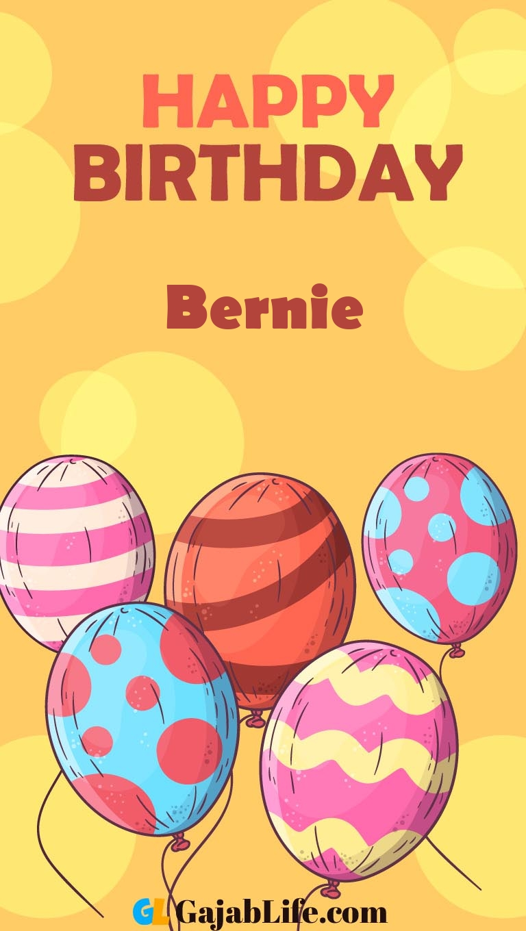 Create bernie happy birthday image wallpaper with coloring ...
