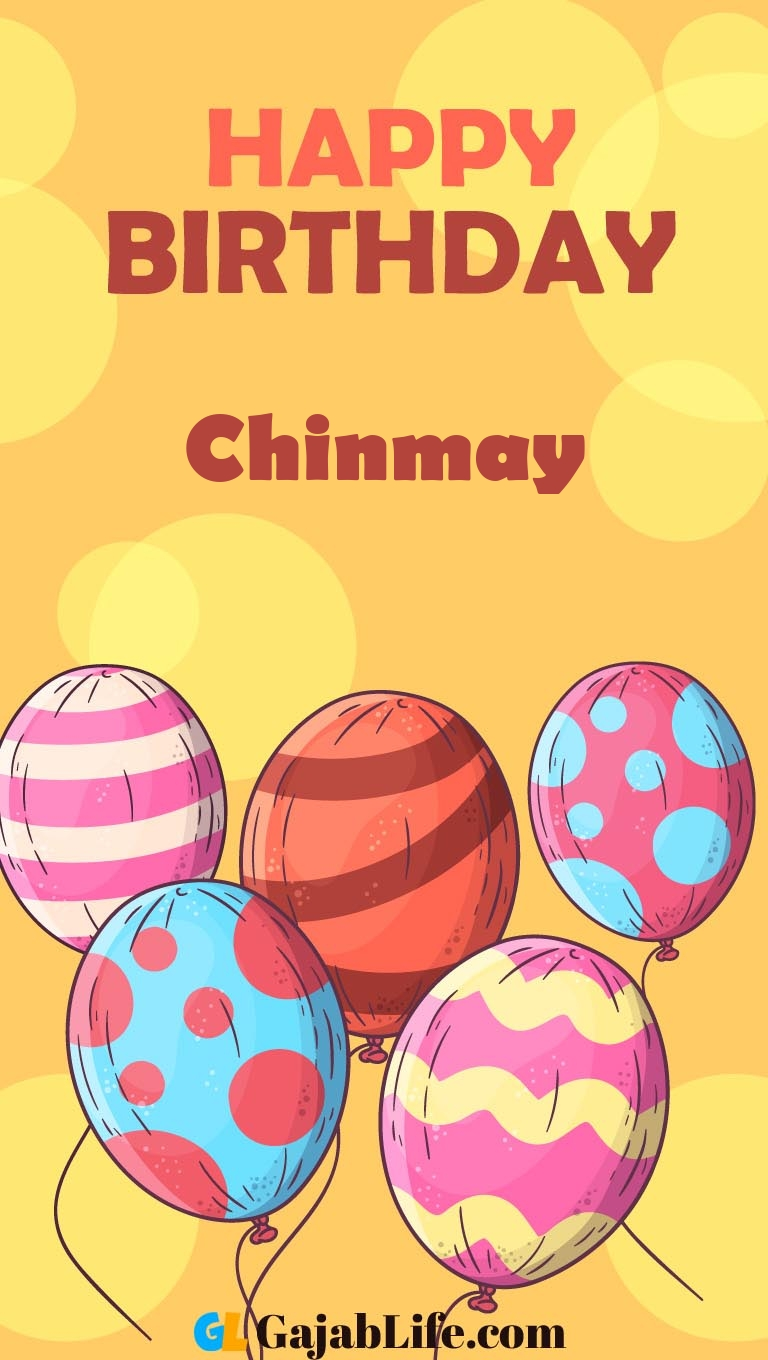 Free chinmay Happy Birthday Cards With Name - December 7