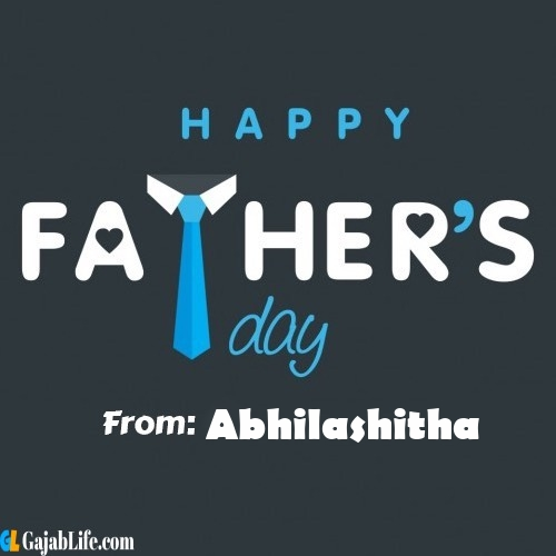 Abhilashitha fathers day messages