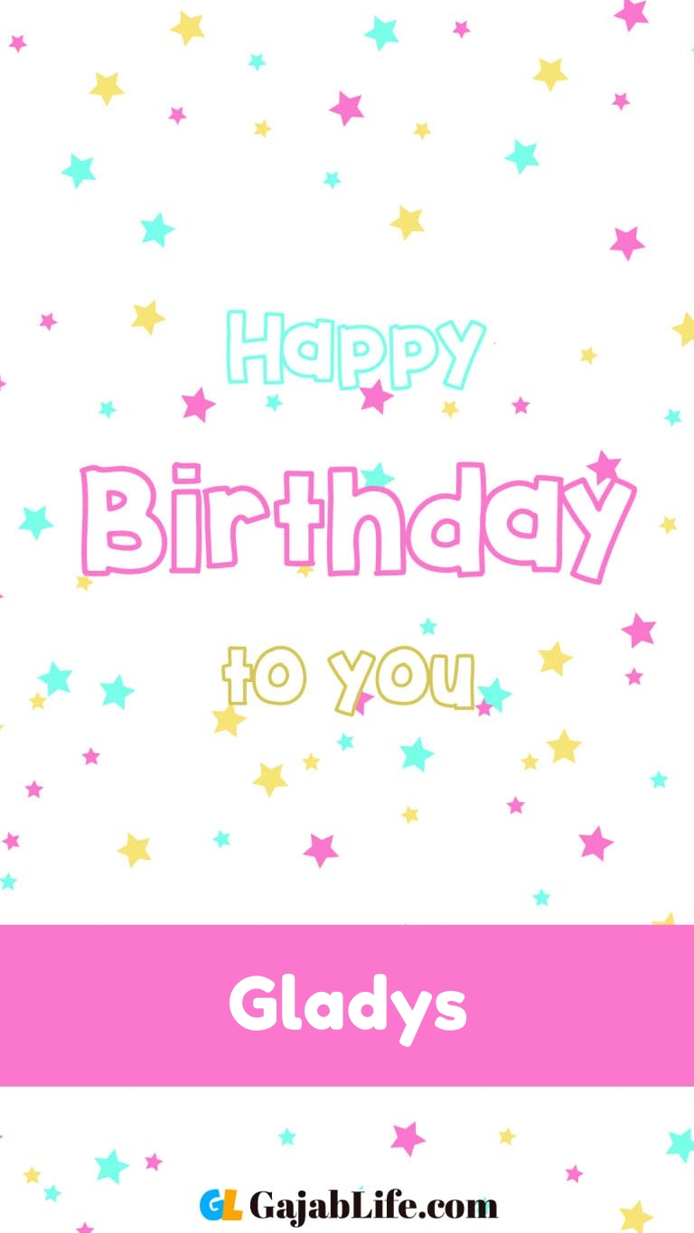 Terrific Free Gladys Happy Birthday Cards With Name May 2020 Funny Birthday Cards Online Sheoxdamsfinfo