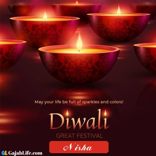 Happy Diwali Nisha 2020 Whatsapp Messages Wishes Images Facebook Messages Sms Cards And Greetings For Diwali January 2021