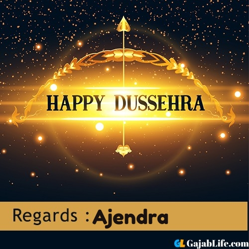 Ajendra happy dussehra wishes images, photos