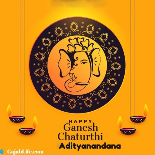 Adityanandana happy ganesh chaturthi 2020 images, pictures, cards and quotes