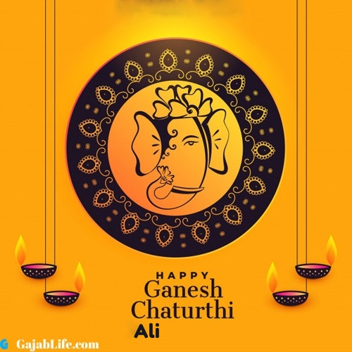 Ali happy ganesh chaturthi 2020 images, pictures, cards and quotes