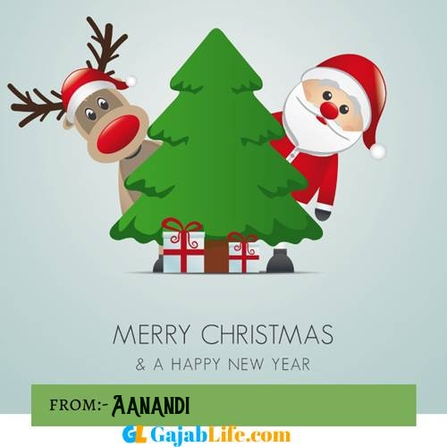 Aanandi happy merry christmas and happy new year wishes quotes images free