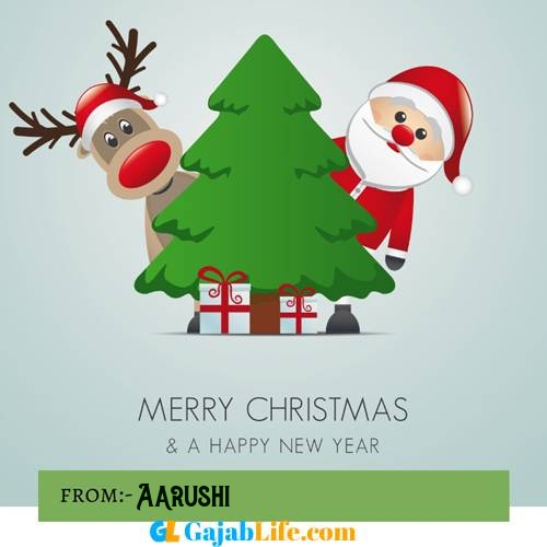 Aarushi happy merry christmas and happy new year wishes quotes images free