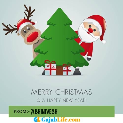 Abhinivesh happy merry christmas and happy new year wishes quotes images free