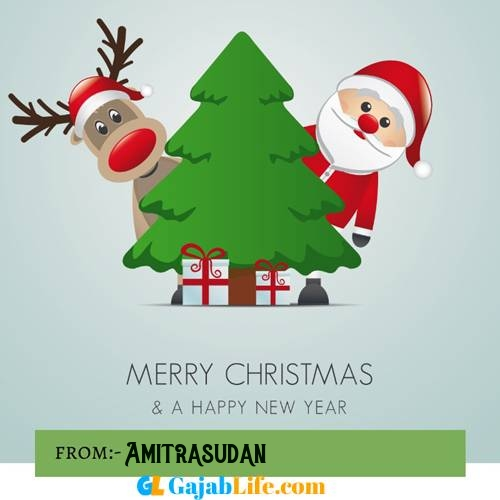 Amitrasudan happy merry christmas and happy new year wishes quotes images free