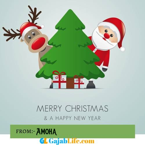 Amoha happy merry christmas and happy new year wishes quotes images free
