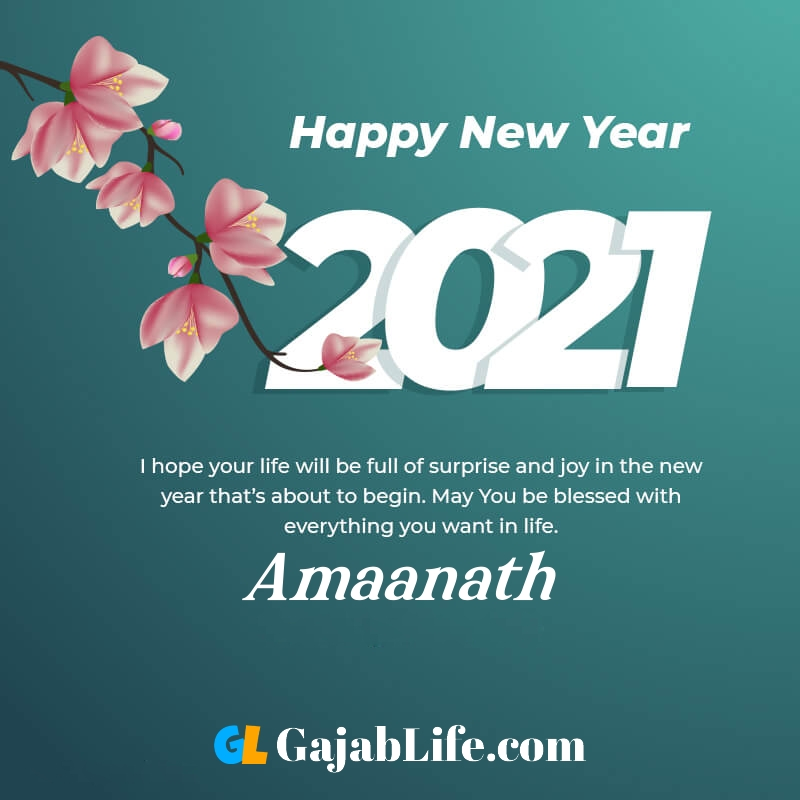 Happy new year amaanath 2021 greeting card photos quotes messages images