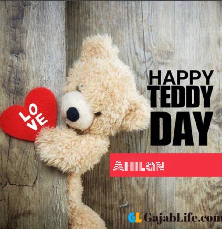 Happy teddy ahilan day status teddy bear pics images