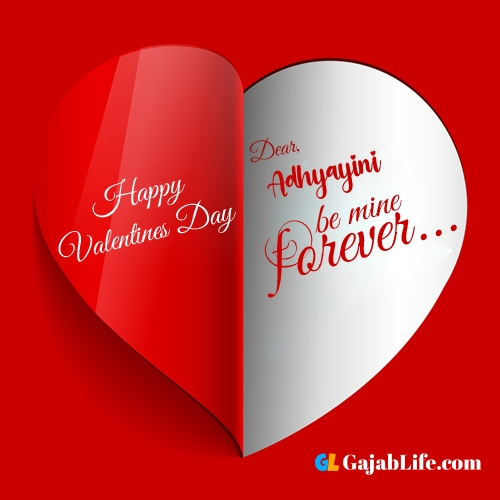 Happy valentines day images, adhyayini stock photos with name