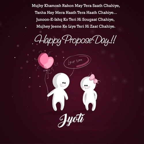 jyoti happy propose day quotes r tic propose day image