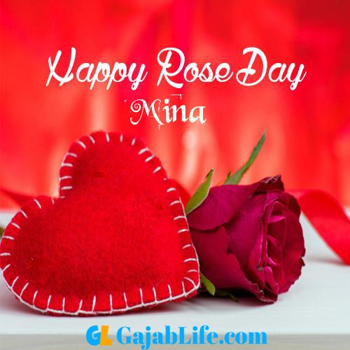 Mina Happy Rose Day 2020 Best Wishes Image Picture And Wallpaper September 2020