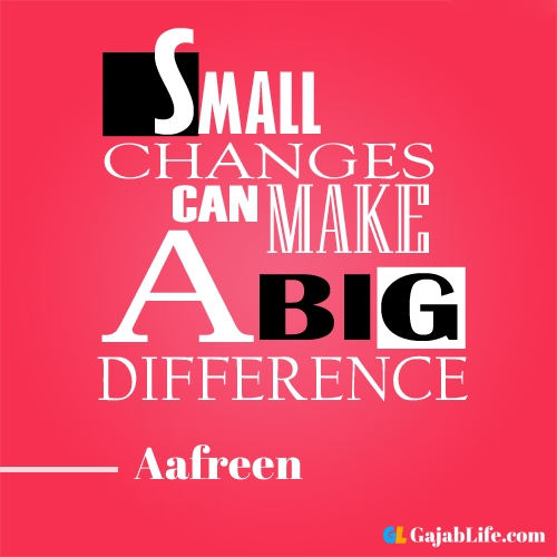 Morning aafreen motivational quotes