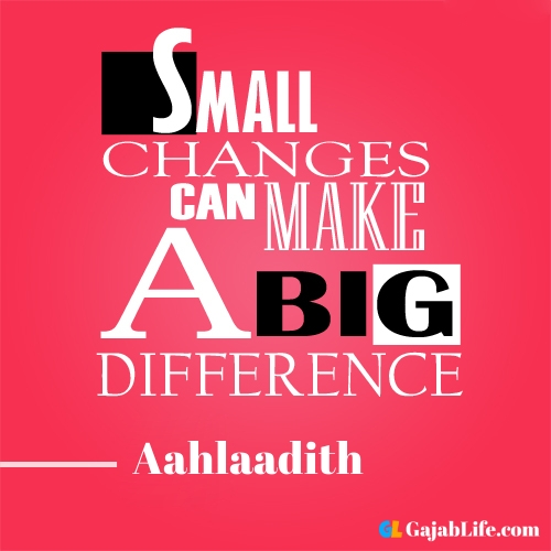 Morning aahlaadith motivational quotes