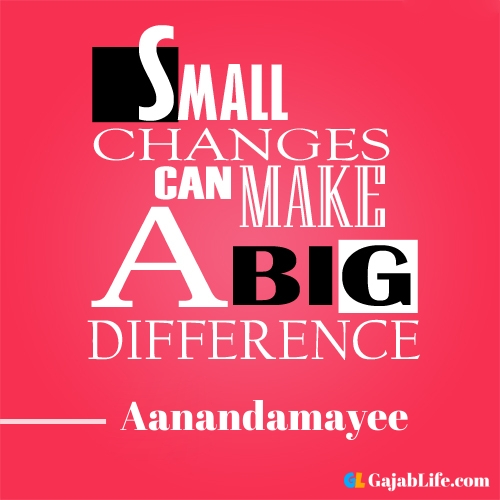 Morning aanandamayee motivational quotes