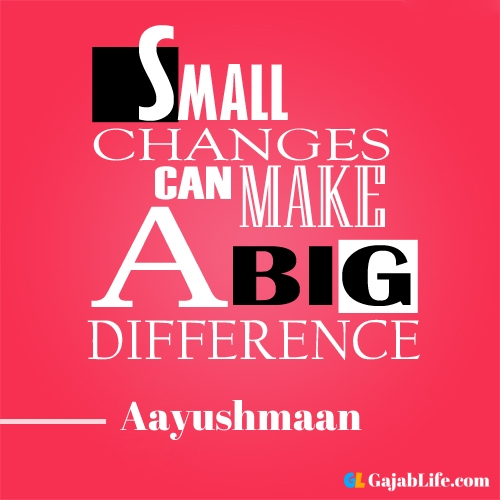 Morning aayushmaan motivational quotes