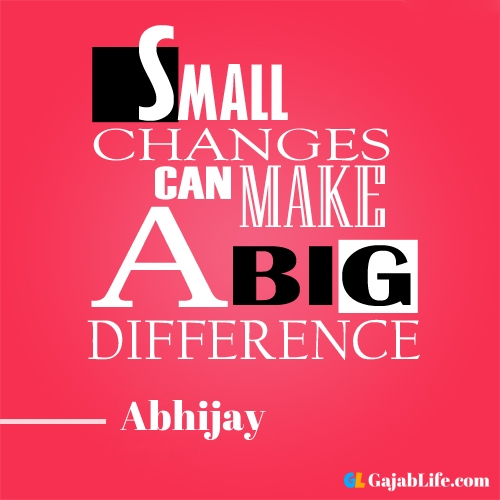 Morning abhijay motivational quotes