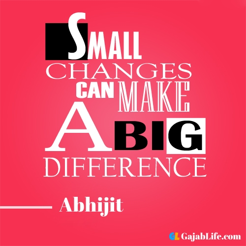 Morning abhijit motivational quotes