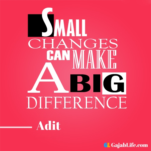 Morning adit motivational quotes